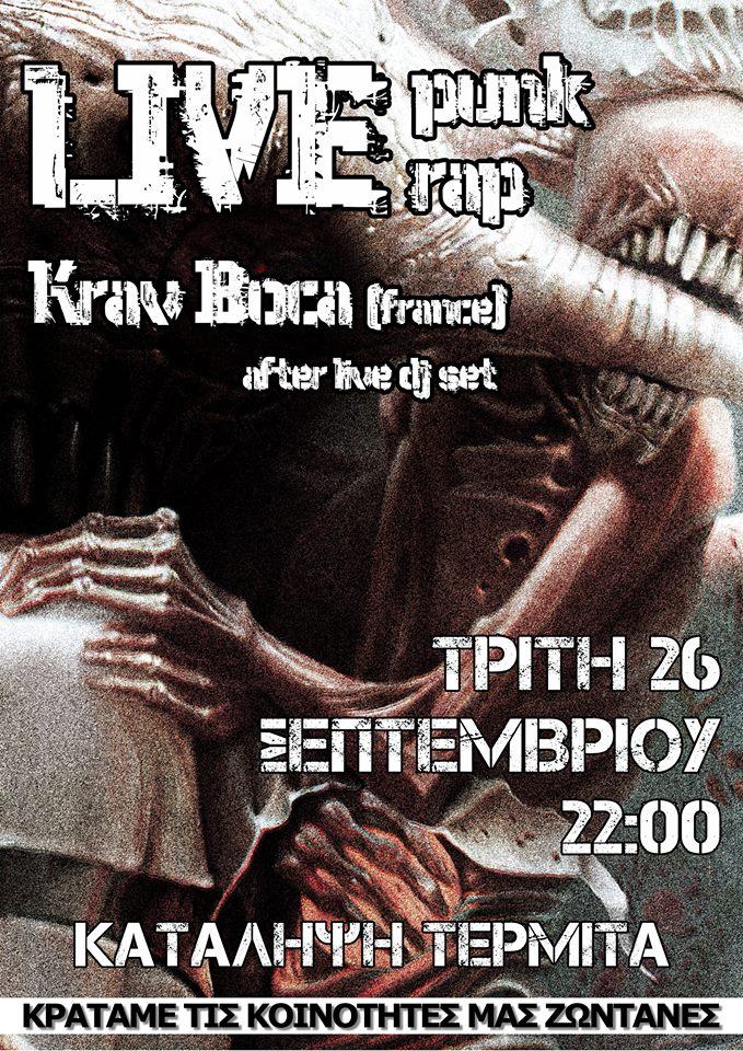 26.09 Punk Rap live/ Krav Boca